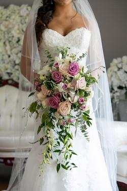 Brides Bouquet Detail
