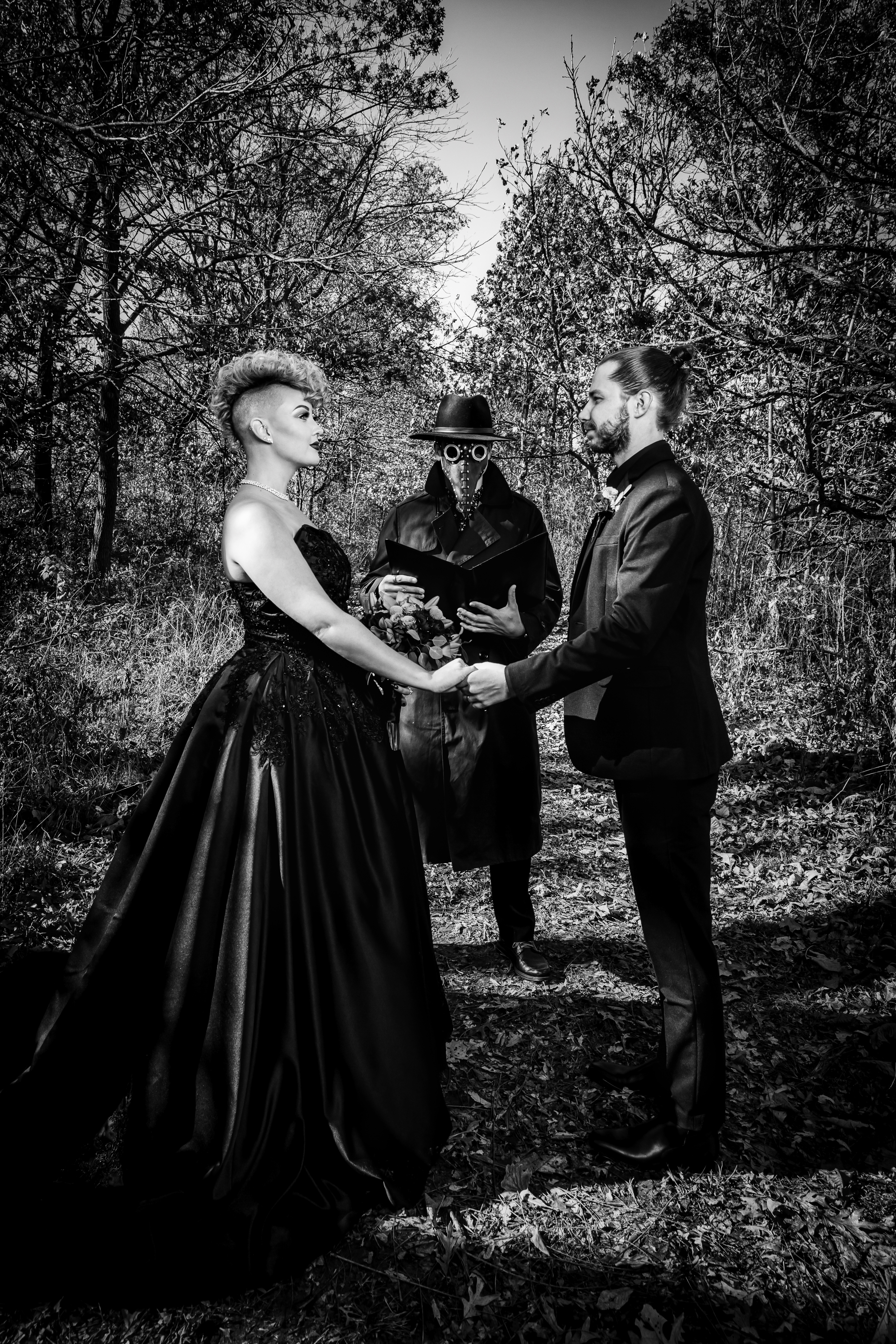 Elegant Gothic Style Wedding
