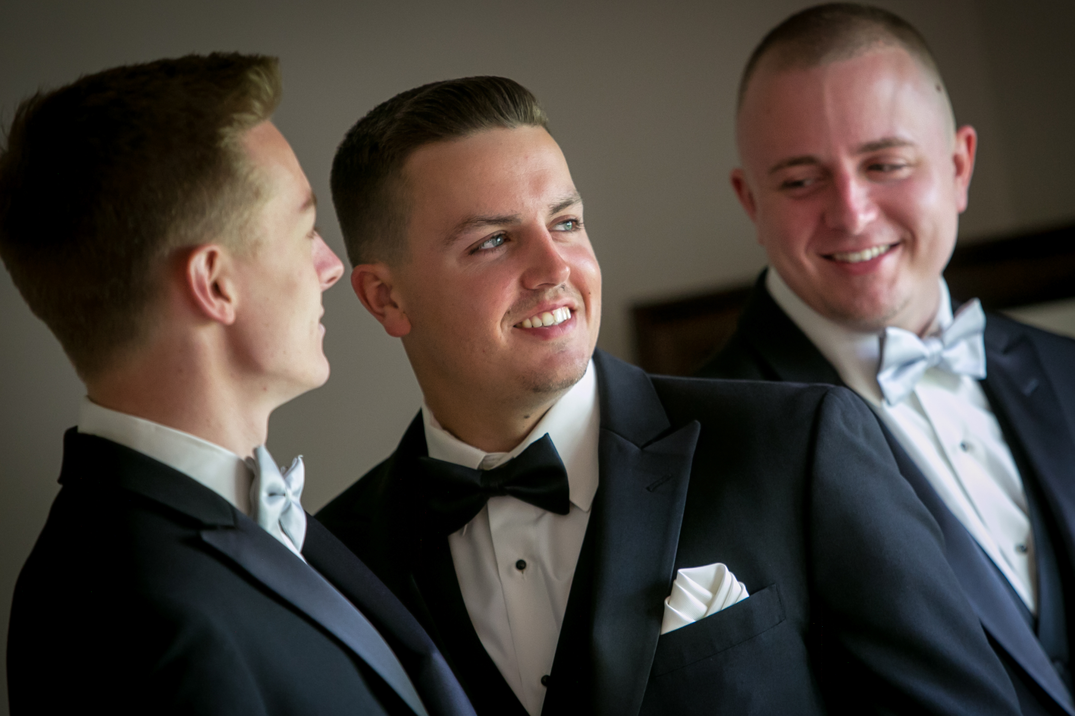 Groom Prep: With his Brothers