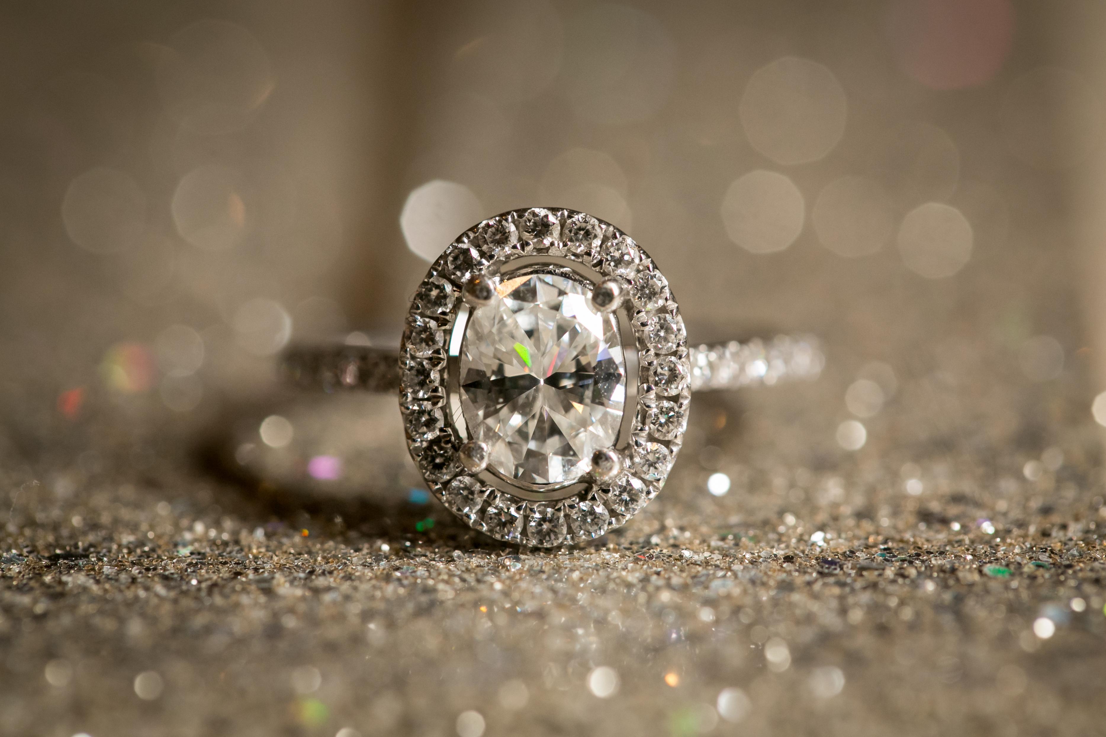 Engagement Ring Sparkle