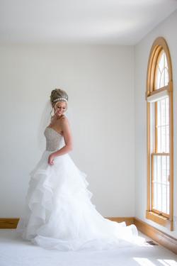 Full Length Bride Portrait