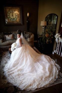 Dramatic Bride Portrait: Window Light