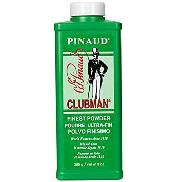 Clubman Powder - White