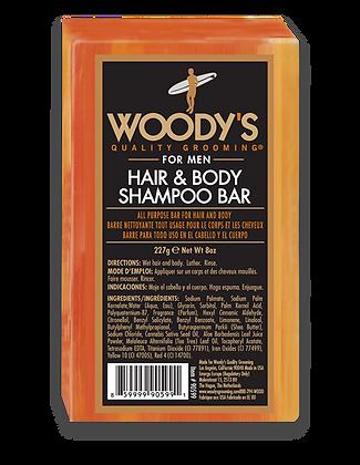 Woody's Hair & Body Shampoo Bar 8oz