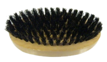 Marvy 125 Military Style Oval Wood Brush