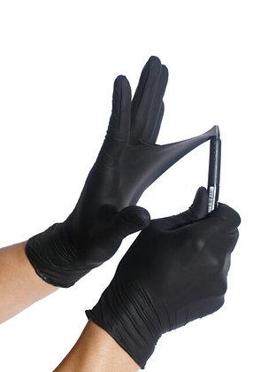 Sanek Black Nitrile Gloves- 100 pack