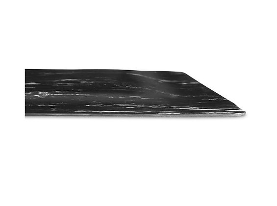 Black Marble Barber Mat