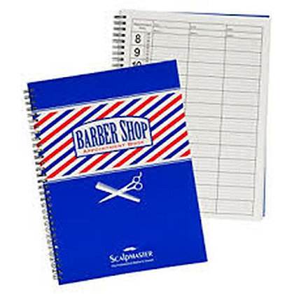 Scalpmaster Appointment Record Books