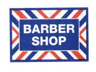 """Barber Shop Decal 12""""x17"""""""