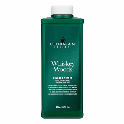 Clubman Whiskey Woods Powder