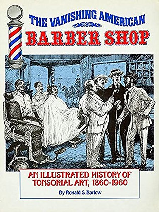 Vanishing American Barber Shop Book