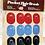 Thumbnail: FMS Oval Pocket Hair Brushes- Dozen