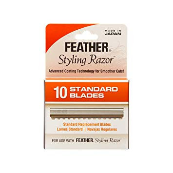 Feather Styling Blades (10)