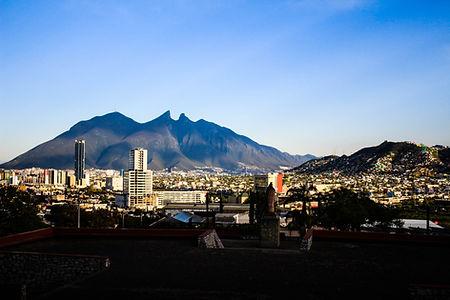 City Skyline with Cerro de la Silla as a