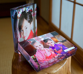 5x7 inch Acrylic Blocks. Table display with big impact!
