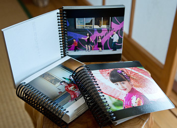 Session Proof Books. It comes with ALL final images from the session in 5x5 inch size spiral bound book.