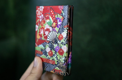 A Wave book - photo wraped cover.