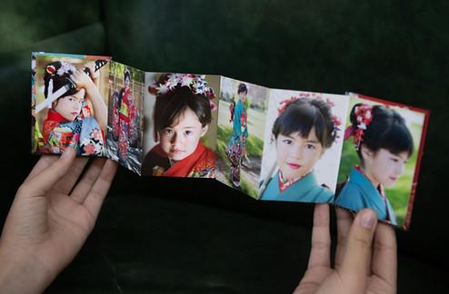 Wave Book-Front Insize 6 Image Panels.