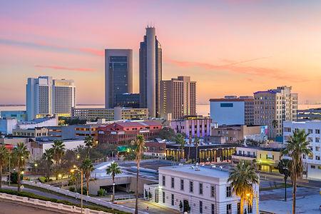 Corpus Christi, Texas, USA Skyline at du