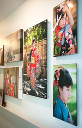 Acrylic Wall Prints with 4 of stainless posts