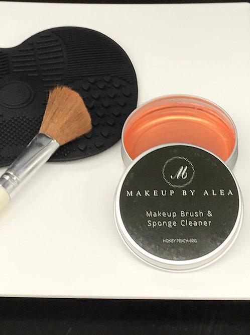 Makeup Brush And Sponge Cleaner W/ Brush Cleaner
