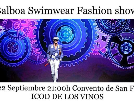 """Pasarela de Lucas Balboa en Icod de los Vinos, colección Primavera Verano 2019 Swimwear """"Mechanic Lo"""