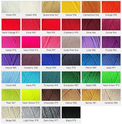 Pato Everyday DK Yarn (Monochrome)