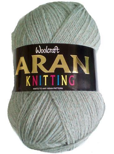 Discontinued Woolcraft 25% Wool Aran Shades