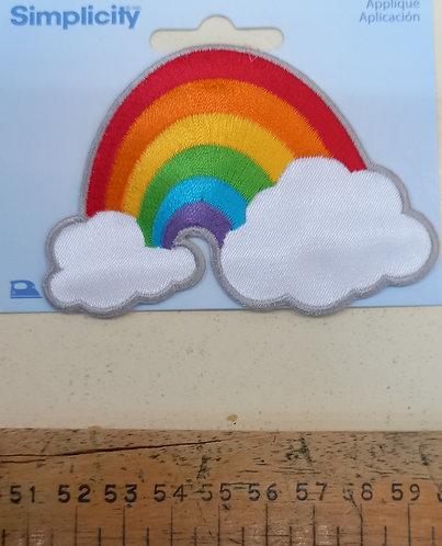 Iron-on Rainbow Motif
