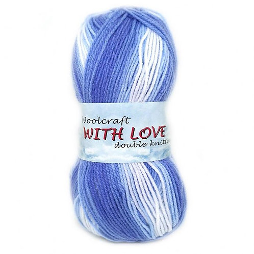 With Love Print DK Yarn by Woolcraft