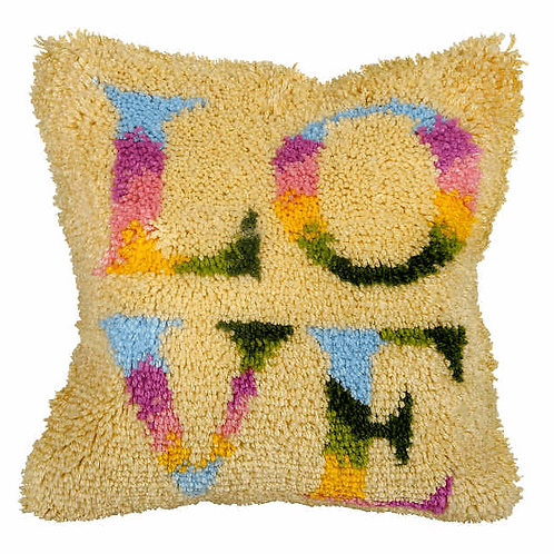 Latch Hook Cushion Kits