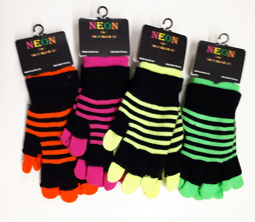 Magic Neon Gloves for Children & Ladies