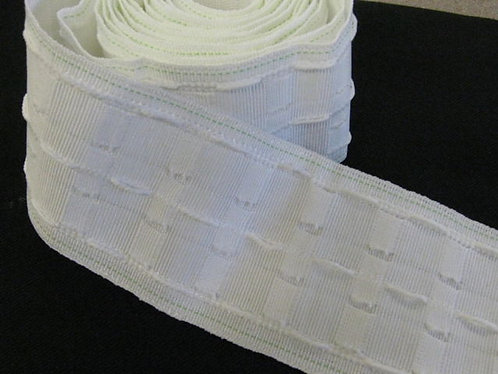 Velcro Compatible Curtain Header Tape - 75mm - 3""