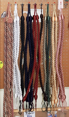 Rope Curtain Tie-Back