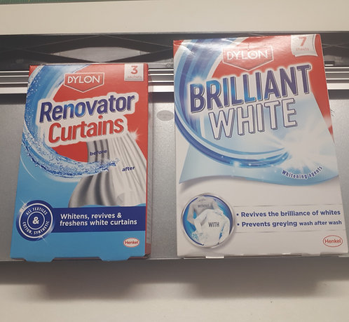 Dylon Curtain Renovator or Fabric Brilliant White
