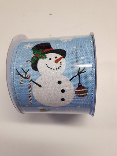 2.7m Rolls of Christmas Themed Ribbon - 60mm Width