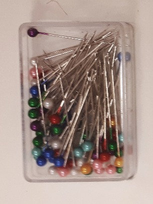 Coloured Head Quilting Pins