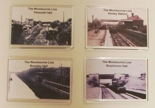 Historic Black Country Railway Collection Fridge Magnet