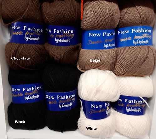 New Fashion DK by Woolcraft - Newer Shades