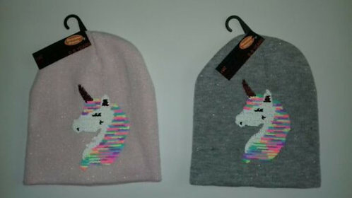 Magic Unicorn Beanie Hats for Children