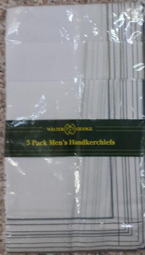 Walter Grange PolyCotton Mens Handkerchiefs
