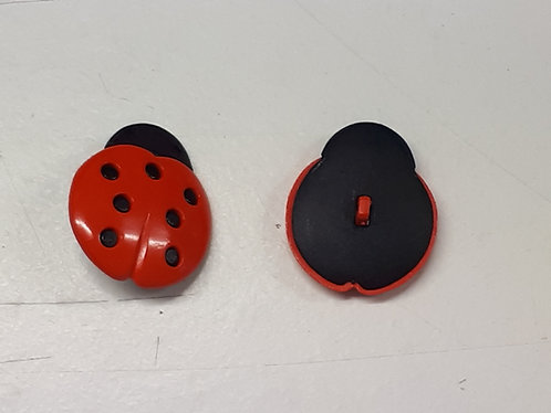 Giant Ladybird Button