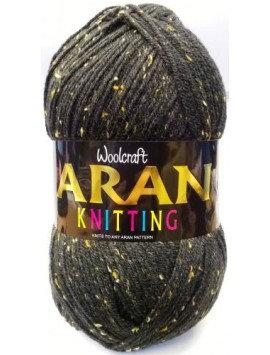 Fleck Shades Woolcraft 400g 25% Wool Aran Yarn