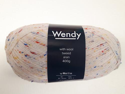 Wendy With Wool Tweed Aran Yarn