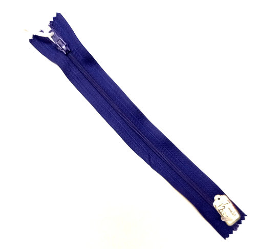 Royal Baby Blue Closed Ended Zips