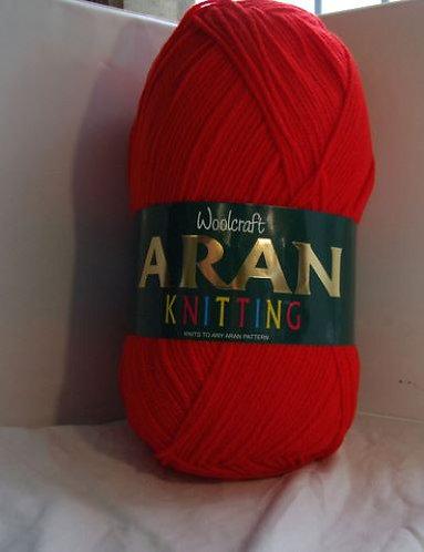 400g 100% Acrylic Aran by Woolcraft - Shades 19 - 444