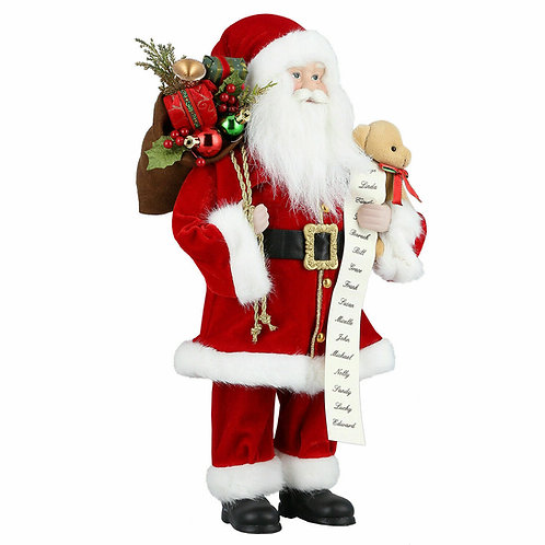 Father Christmas Figurine in 4 heights