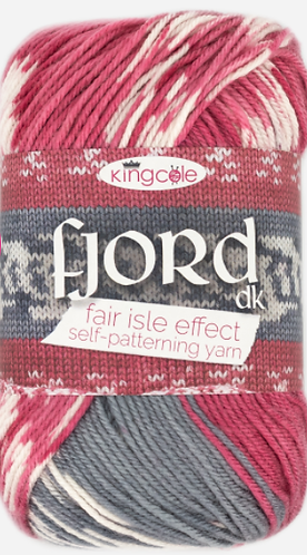 New Shades Fjord (Fair Isle) DK by King Cole