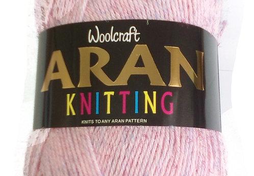 Newer Shades Woolcraft 400g 25% Wool Aran Yarn