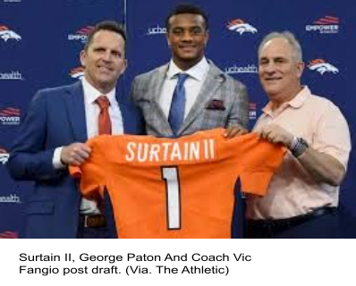 Who is Patrick Surtain II?